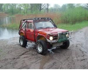 Тюнинг автомобиля ВАЗ 2121 Нива