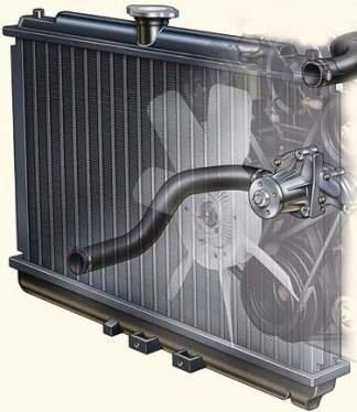 охлаждения двигателей