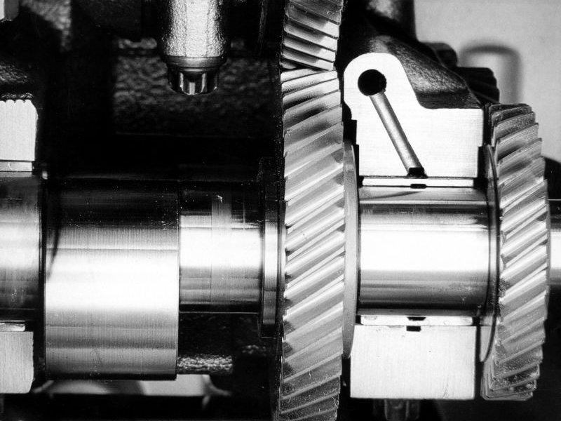 системы смазки двигателя
