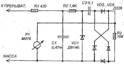 Схема простого автомобильного