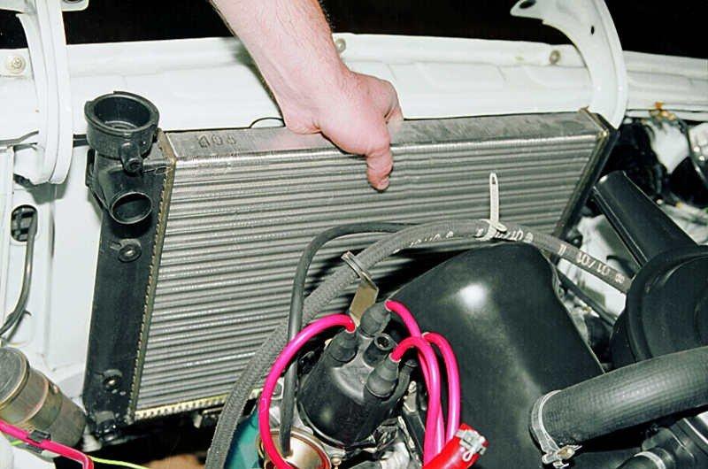 Как промыть радиатор охлаждения двигателя своими руками