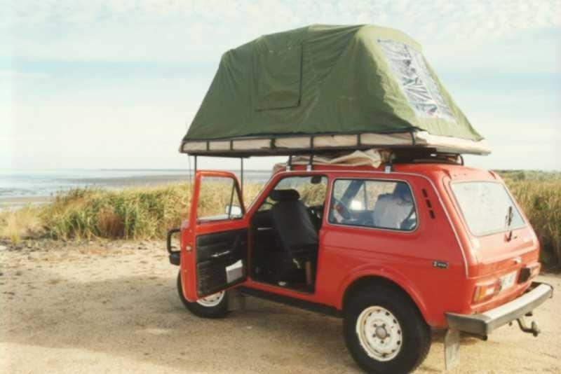 Палатку на крышу авто своими руками