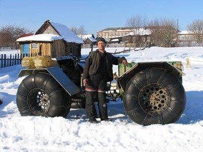 Снего-болотоходы самоделки