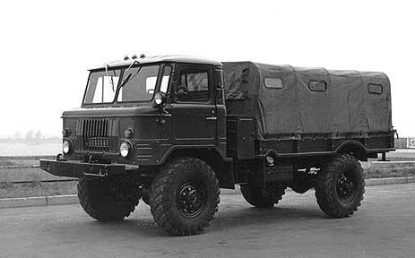 Автомобиль ГАЗ-66: технические