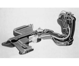 Как почистить топливный бак Audi 80