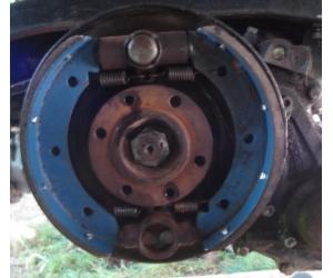 Замена тормозных колодок стояночного тормоза на УАЗ