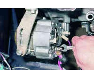 Замена щеток генератора Ваз 2115
