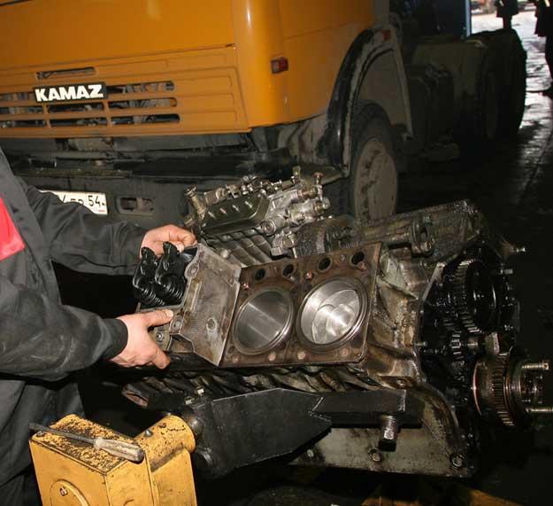 Сборка двигателя камаз своими руками 12