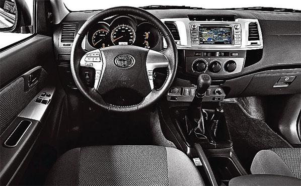 Описание приборной панели автомобиля Toyota