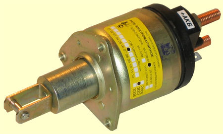 устройство втягивающего реле стартера ваз 2106