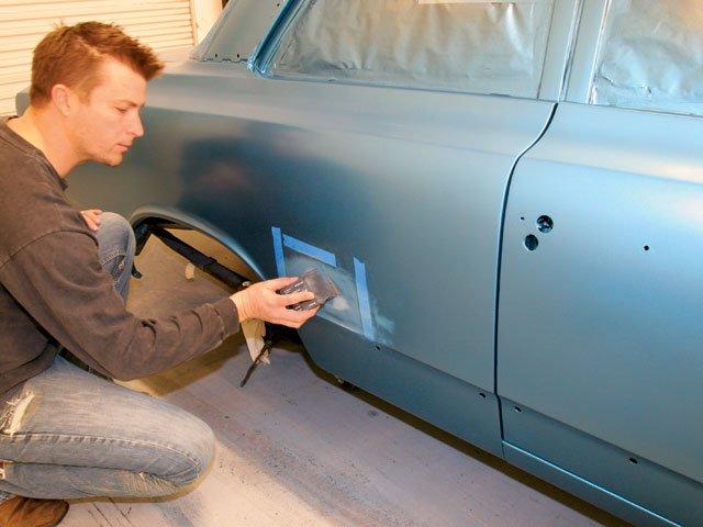 Как правильно красить машину своими руками