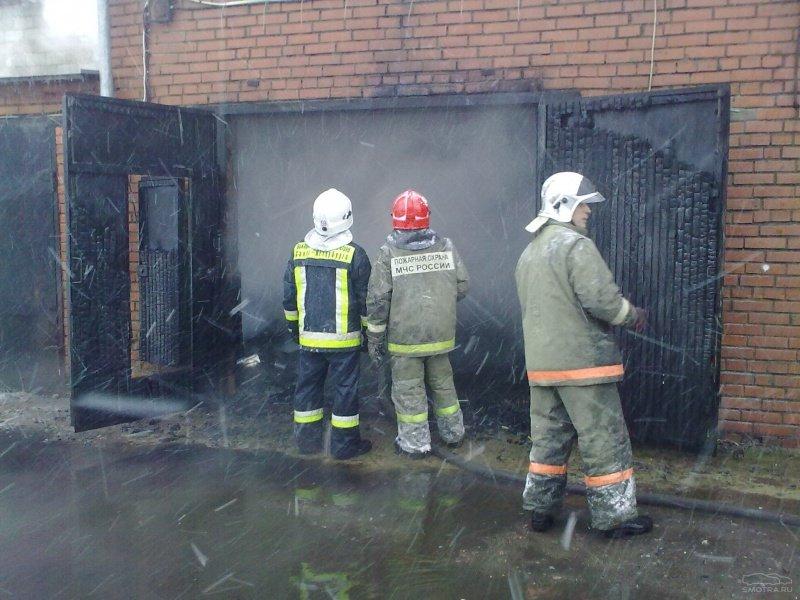 Берегите гараж от пожара
