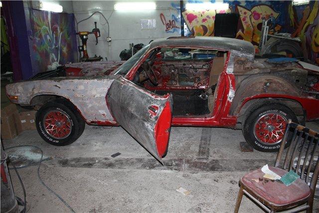 Реставрация машины своими руками 71