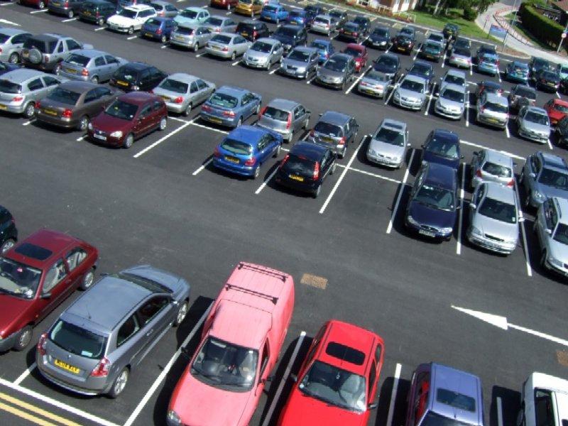 Места для парковки  иллюзия защиты