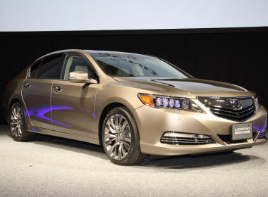 Honda Legend 2015-2016 года