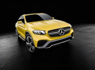 Mercedes-Benz Concept GLC Coupe 2015